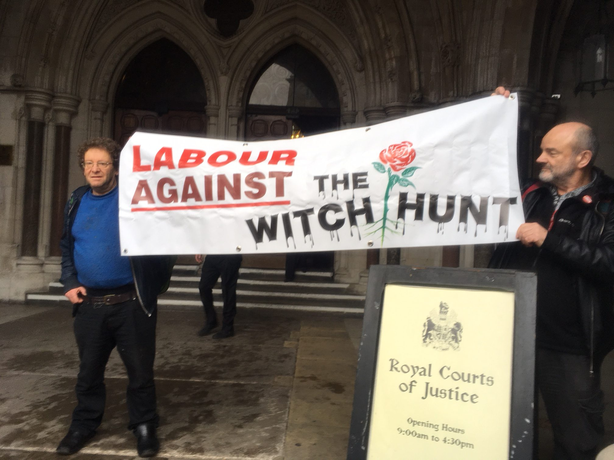 high court – Labour against the witch-hunt